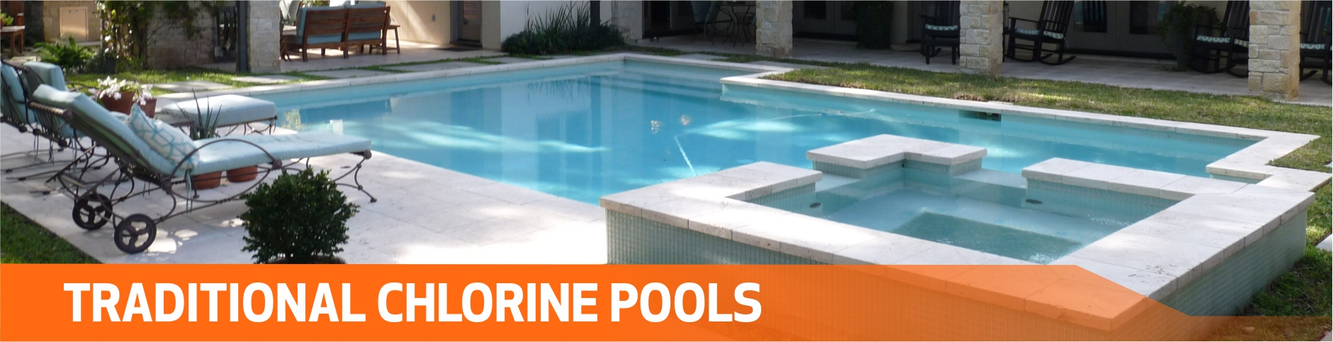 Traditional Chlorine Pools